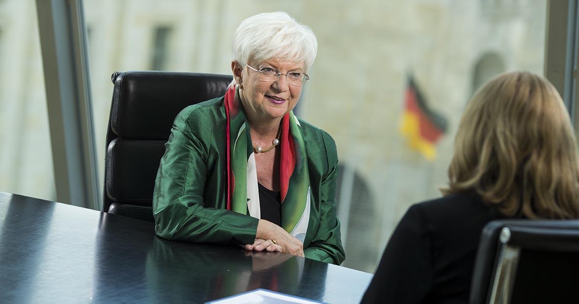 Gerda Hasselfeldt im Interview