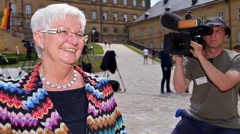 Gerda Hasselfeldt bei der Sommerklausur 2013 in Kloster Banz