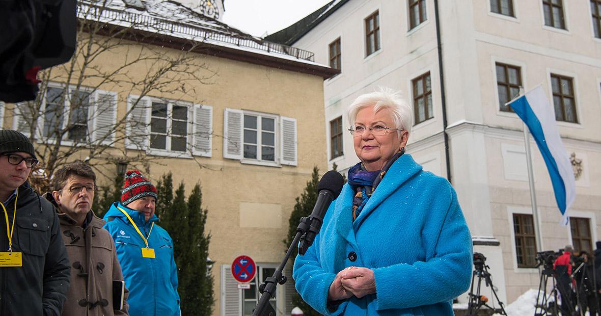 Gerda Hasselfeldt in Seeon